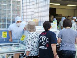 夏限定商品・しそ餃子登場!!横浜点心の工場直売所・正華工場直売
