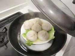 蒸し器がなくても大丈夫!台所にあるもので(簡単)蒸し器の代用してみました