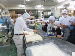 正華工場へ社会科見学に来られた小学生の皆さんからのお便り