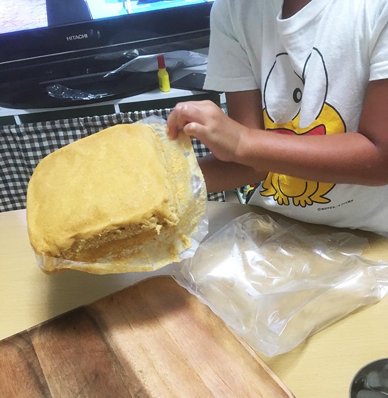 マーライコを使って誕生日ケーキ