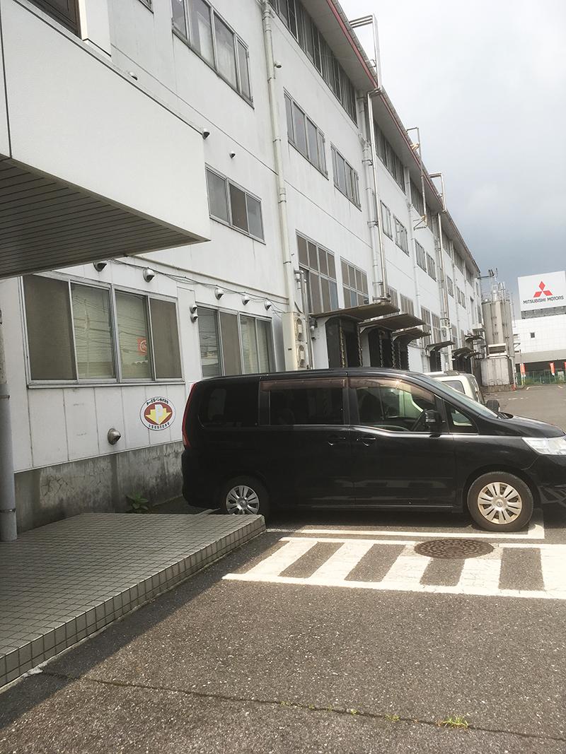 第一パン 駐車場