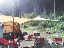 檜原村でファミリーキャンプを楽しんできました