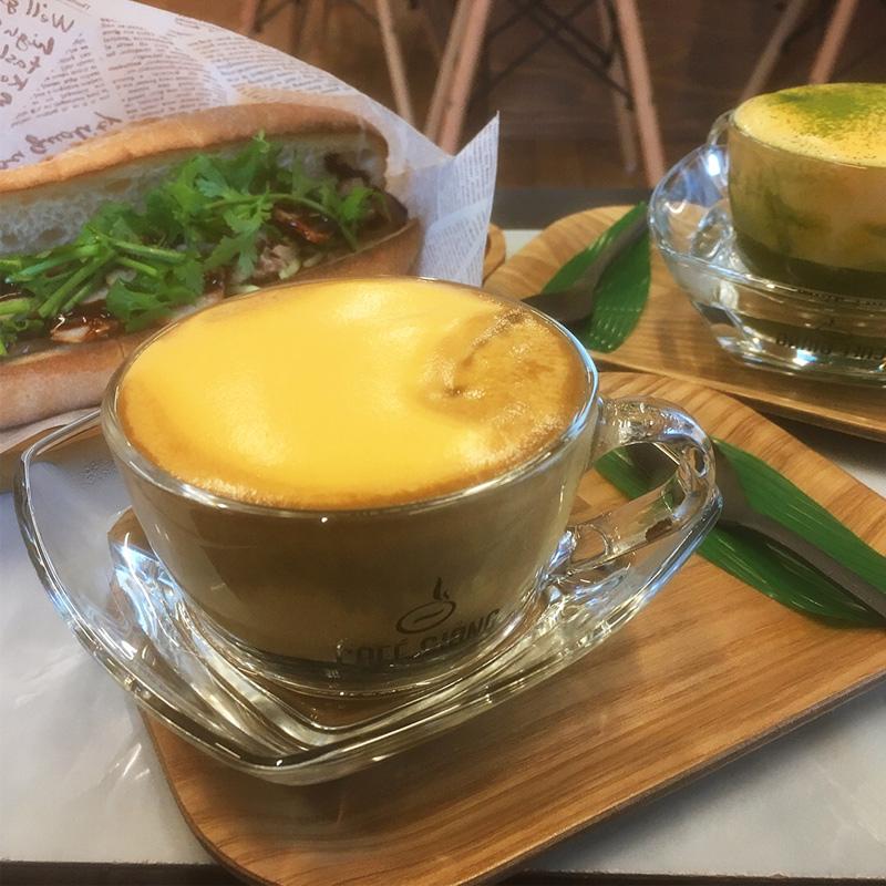 カフェジャン エッグコーヒー
