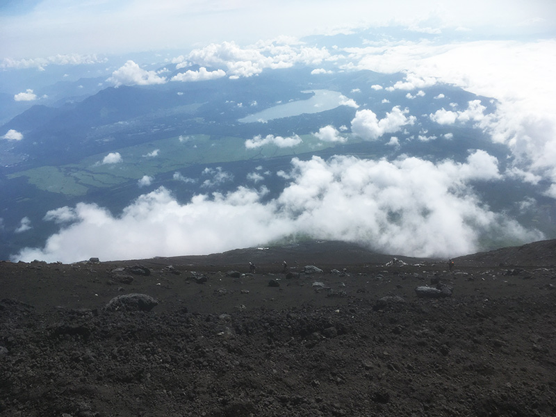 富士登山 下山道