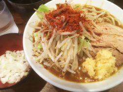 【新店】新杉田の二郎系!麺屋づかちゃんでラーメンと特製TKGを食べました