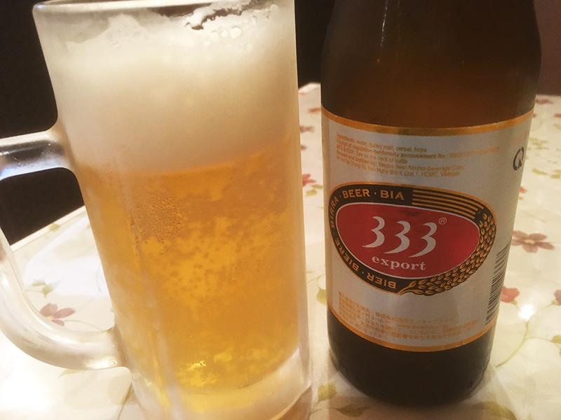 ベトナムビール 333 バーバーバー