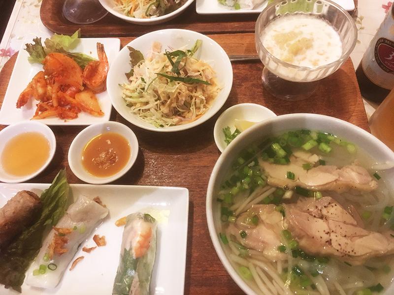 横浜でベトナム料理が食べれるお店 ジャスミンパレス